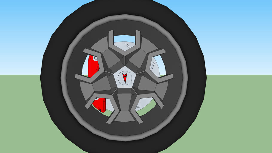 honeycomb wheel/ one lug wheel
