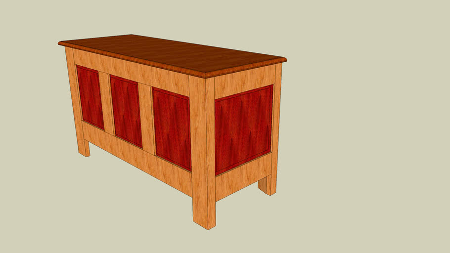 Hope chest - woodworking