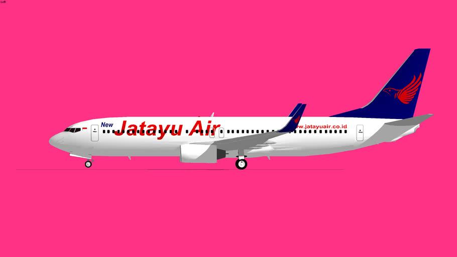 Jatayu Airlines Boeing 737-800