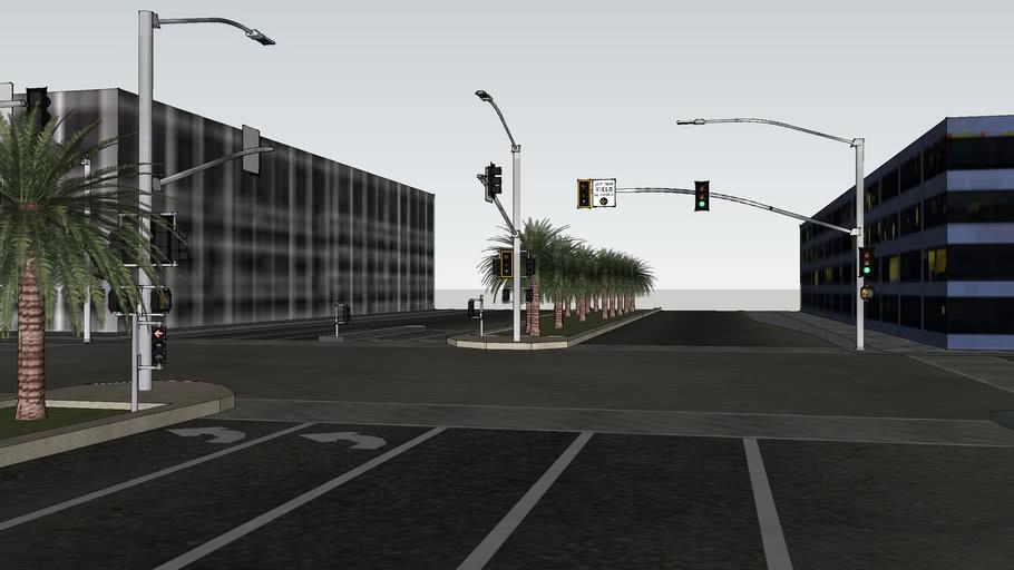 Median Intersection remake