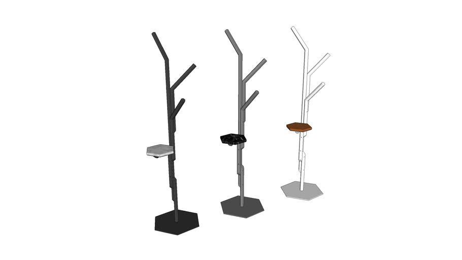 Cabideiro Hércules - Danilo Vale Design