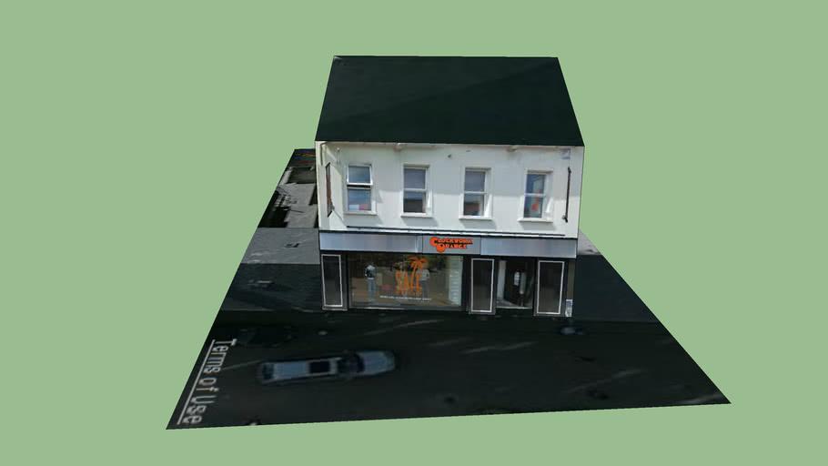 13-15 New Row, Coleraine - A Clockwork Orange