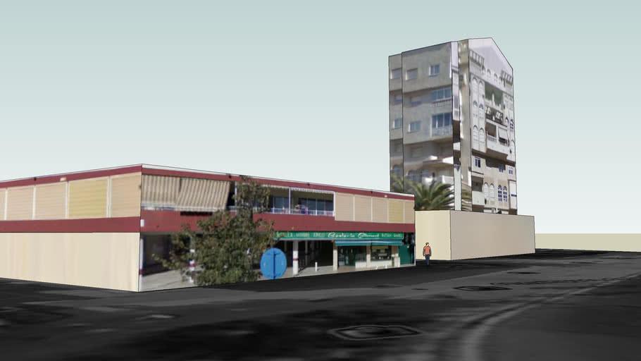 A building in Albufereta