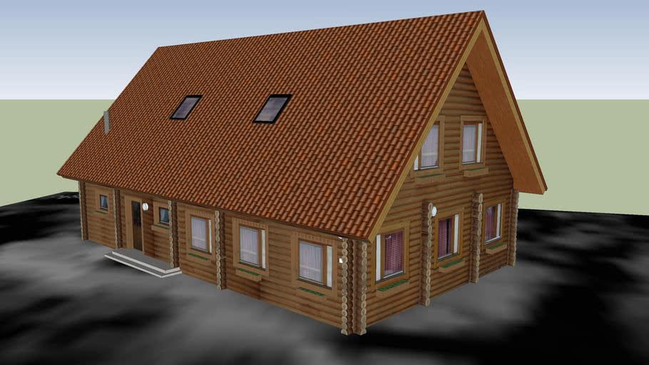 Blockhaus an der Hollager Mühle