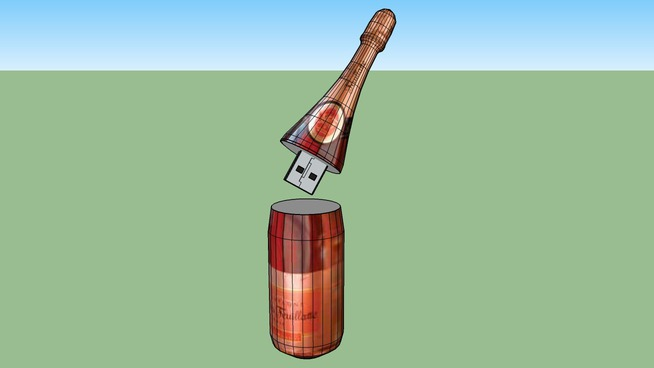 Champagne Flashdisk