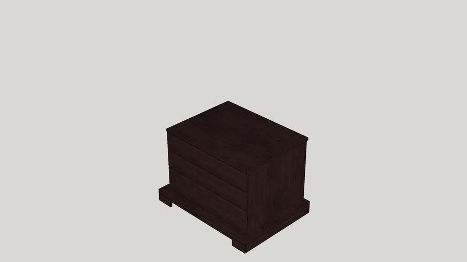 Casen 3 Drawer Nightstand