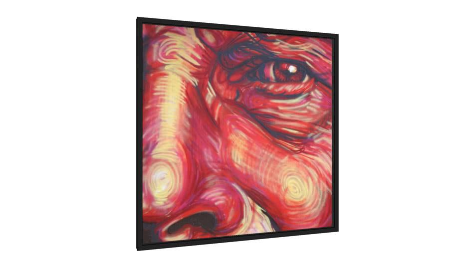Quadro Red eye - Galeria9, por Gabriel Galina