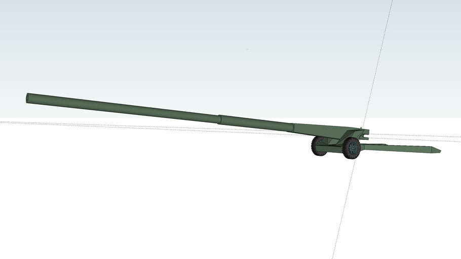 A-54-1 Anti-tank gun 152mm L/80
