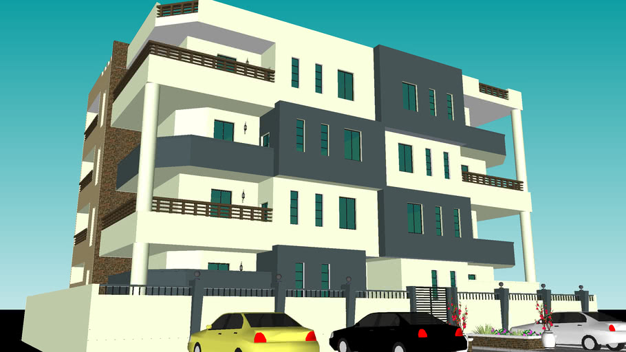 8 units apartment building