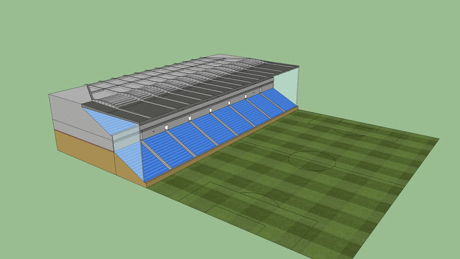 Expanded stadium stand 2 tier (leave name for the stadium in the review)