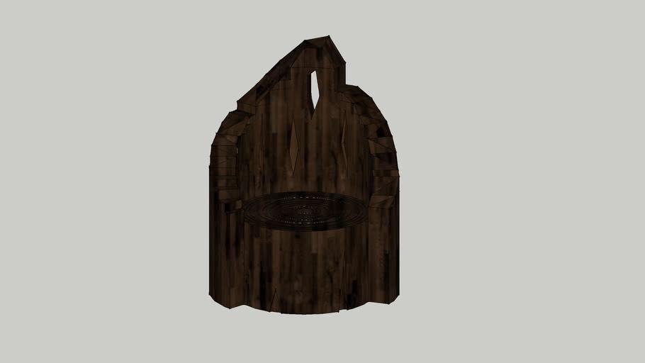 prehistoric chair