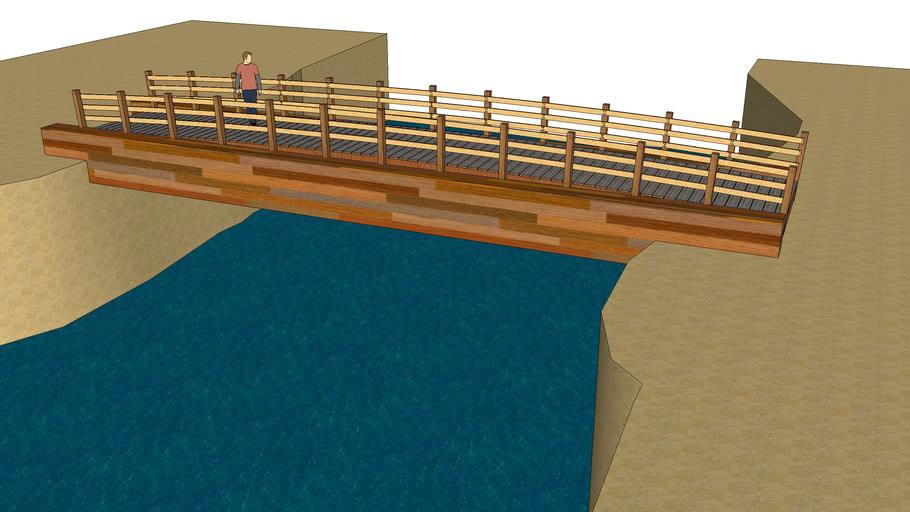 Мост из бруса