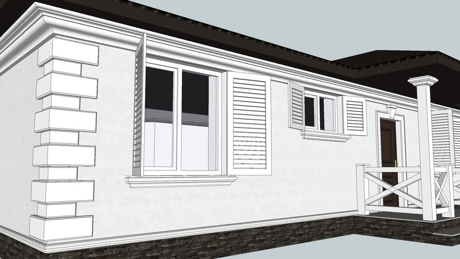Decorative Window Sills: SketchUp Library of Architectural Decoration
