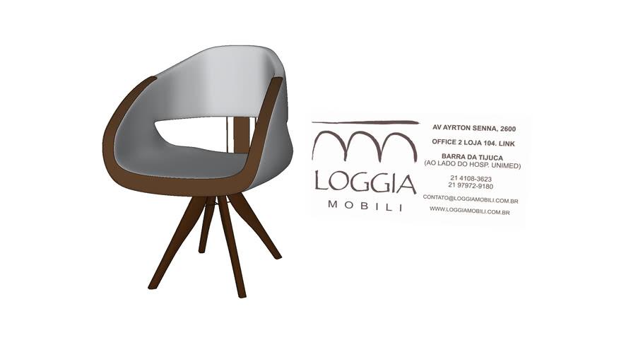 Cadeira Clair TM Loggia Mobili