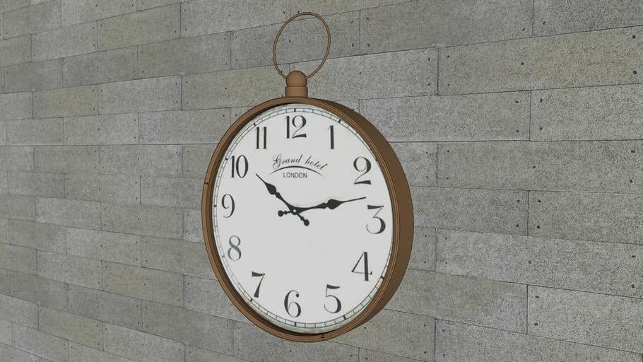 Relógio Home Collection V-Ray 3.4