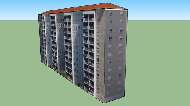 Edificio en 69100 Villeurbanne, Francia
