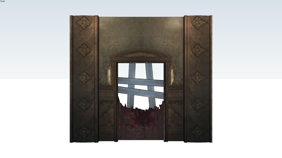 Kino der Toten Zombies Door - Call Of Duty Black Ops