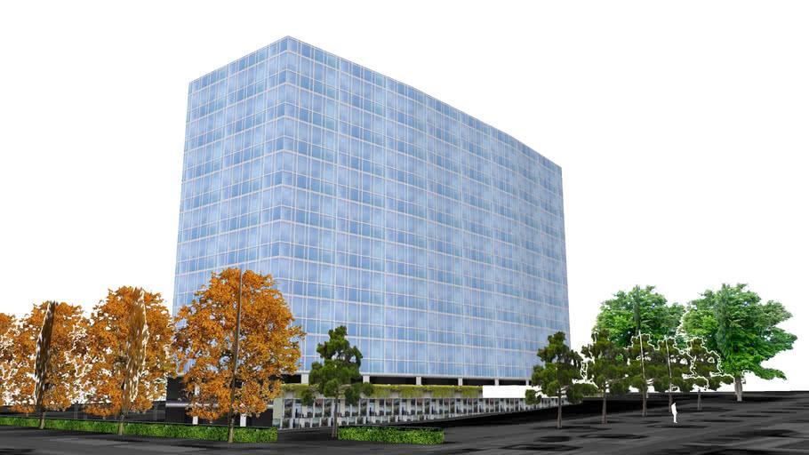 Building in Geneva - Switzerland