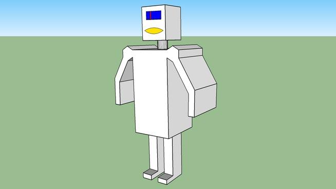 Strangly human like robot