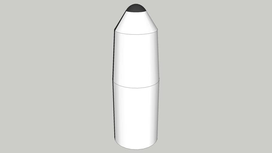 orion cargo lander and aeroshelld