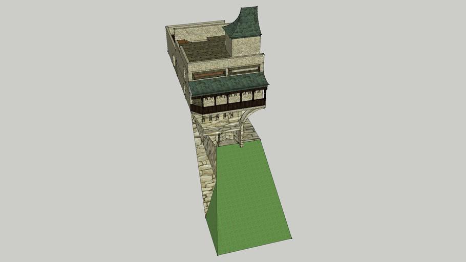 Edo Shogun Fortress Gate 1/2