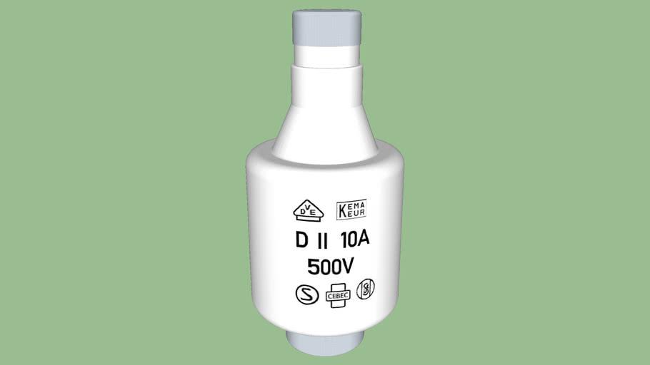 Smeltzekering 10 Ampere