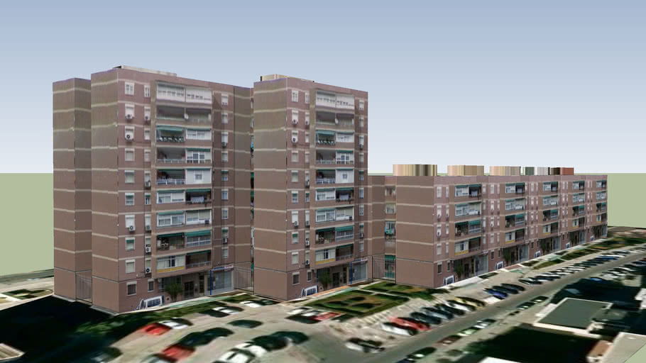 Edificios de viviendas en Zarzaquemada