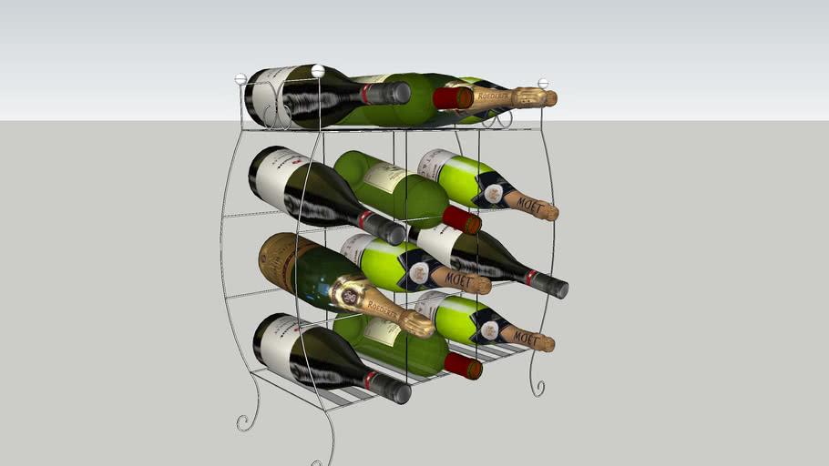 Rack de Vinhos  - Wine Rack