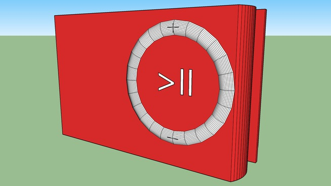 1GB Apple ipod Shuffle red