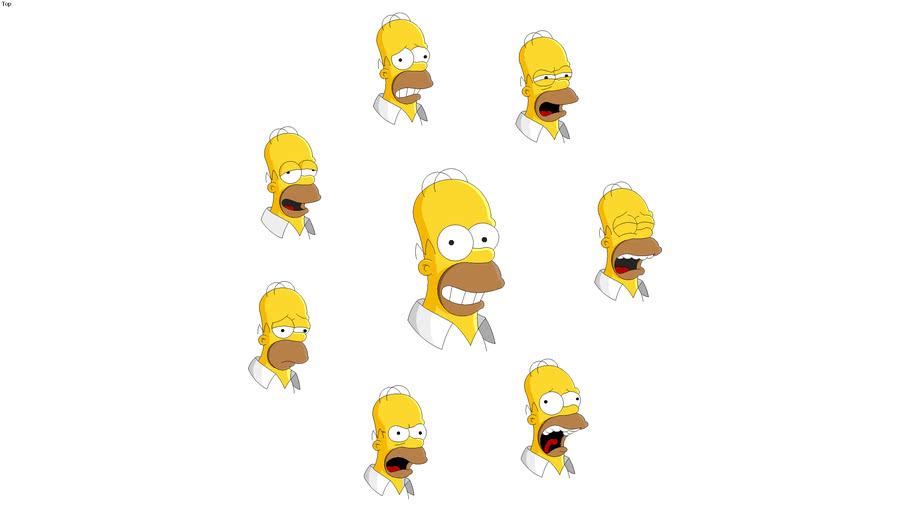 Homer Simpson emojis