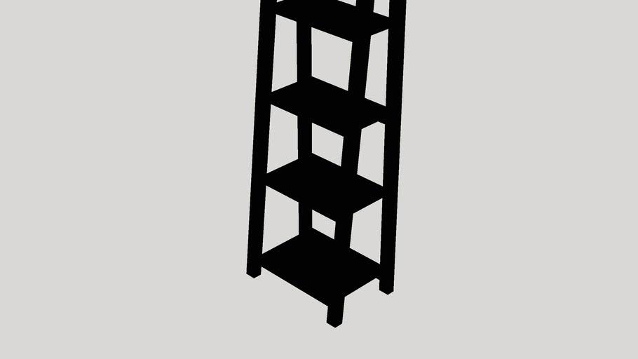 """Melanie 63"""" Accent Shelves Bookcase"""