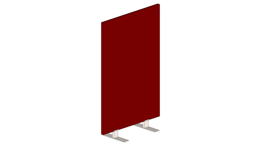 Partitionscreen - B100xH160cm