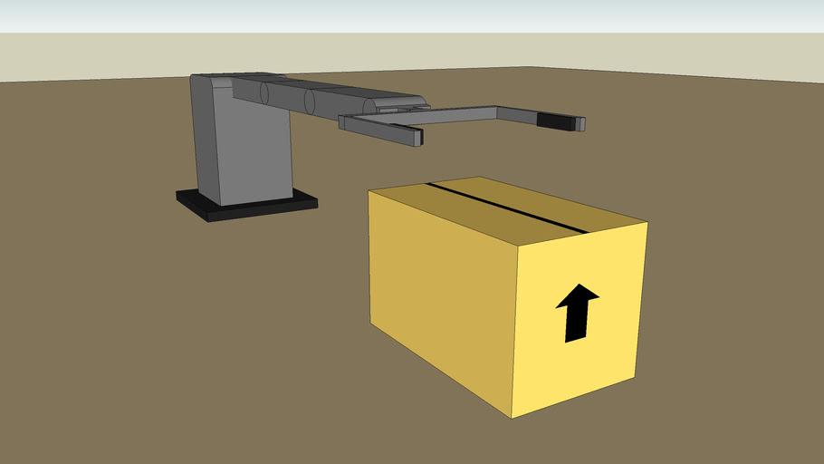 Robotic arm (sketchyphysics)