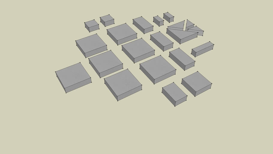#202 Smooth Floor Tiles Various Sizes