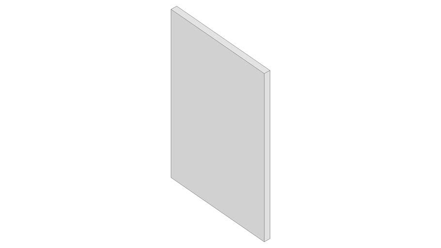 Kachel 25x50 mit Steg