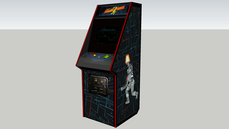 Major Havoc arcade game