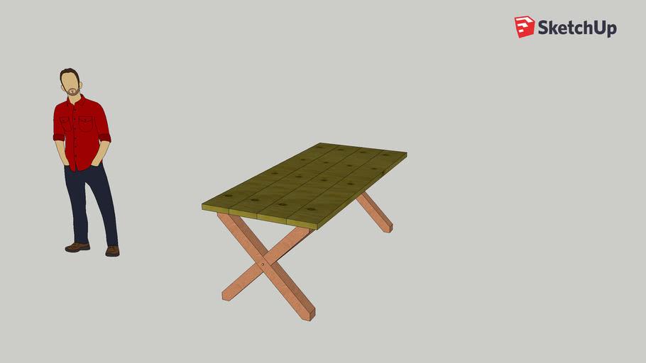 X-frame table