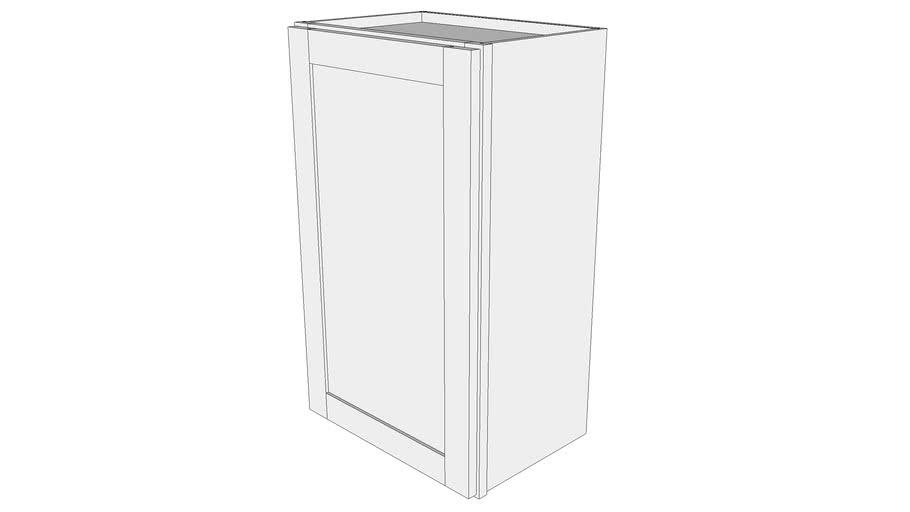 Wall Cabinet W1830 12 Deep One Door