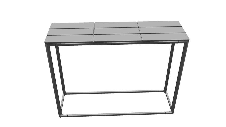 Tall Console Table 100 x 30 Teak