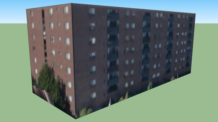 剑桥, 麻萨诸塞州, 美国的建筑模型