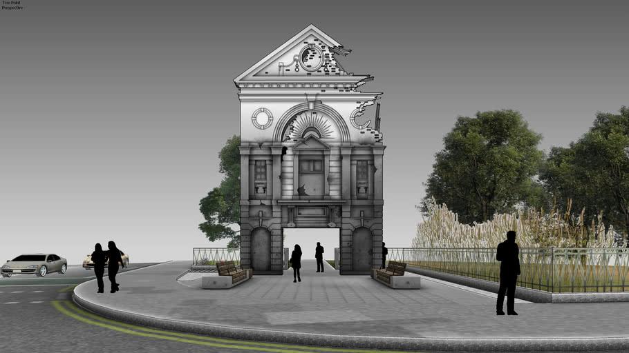 Hypothetical London Blitz Memorial