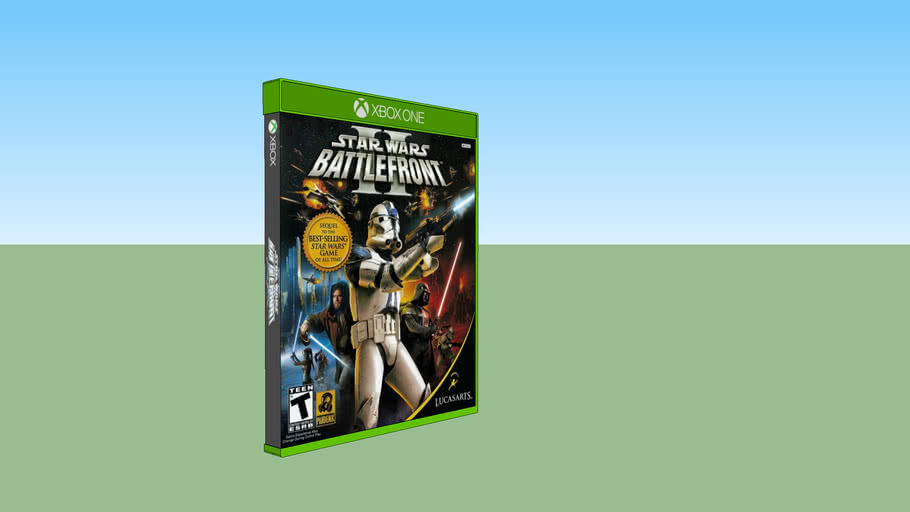 Star Wars: Battlefront II Classic Xbox compatible with Xbox One game case