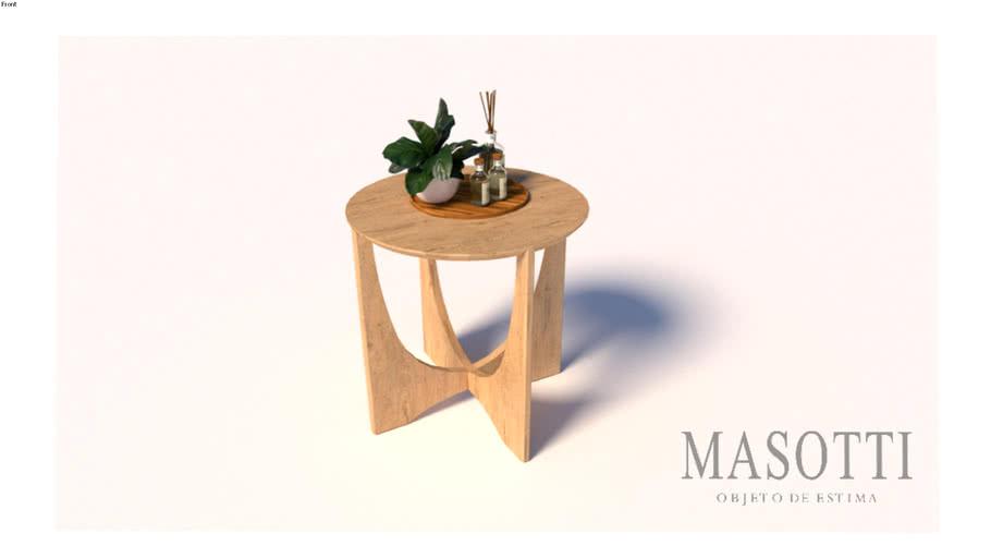 Mesa Auxiliar Coleção Masotti MAS.345.0 F15