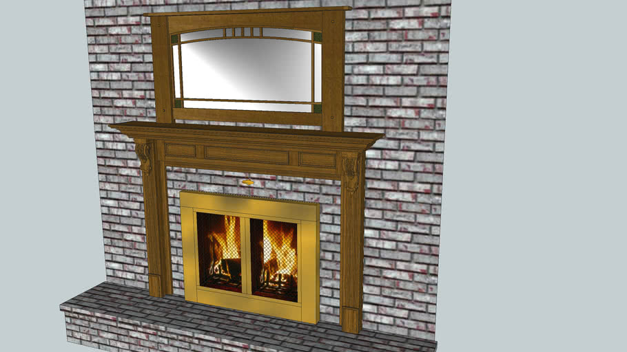 Fireplace Model II