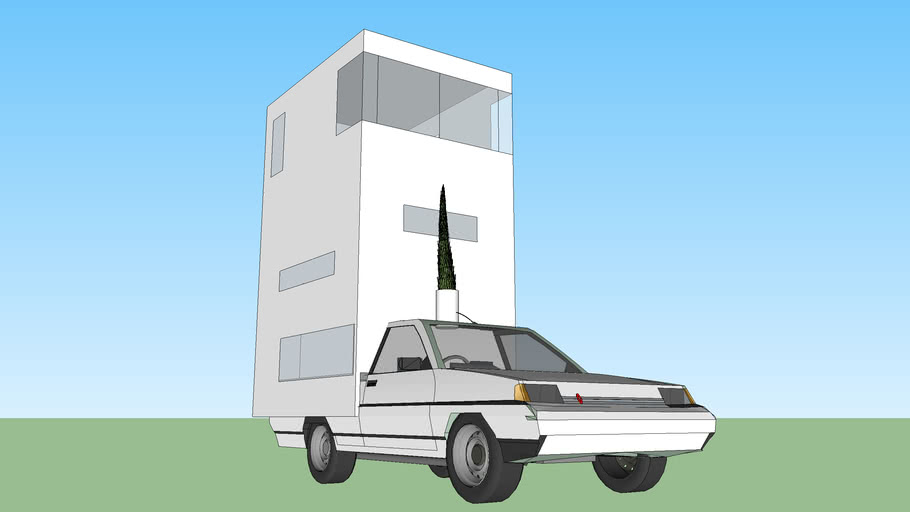 The Leaning Tower of Citroen