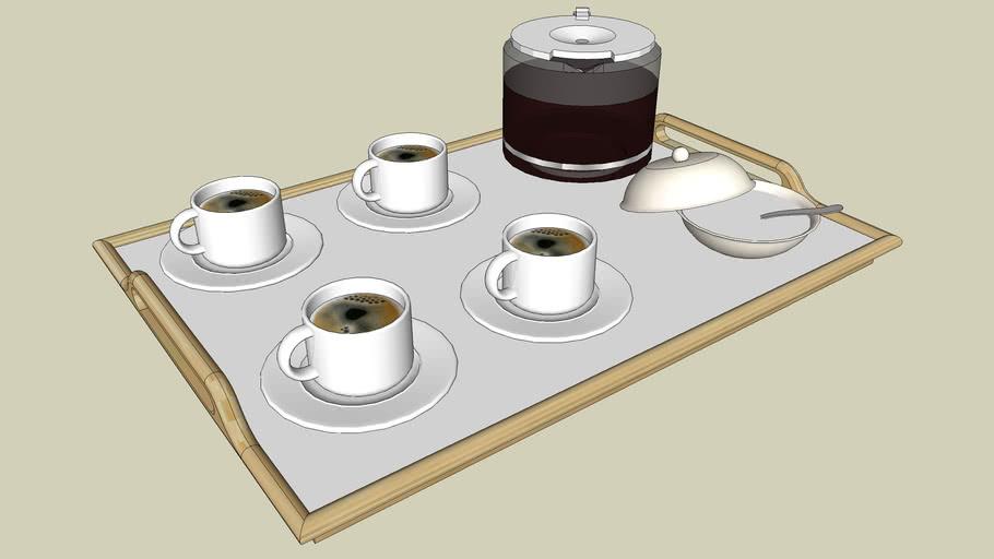 Bandeja de Café/Chá - Tea/Coffee
