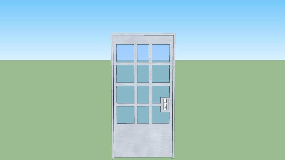 porta metal 2,10 x 1,00 w
