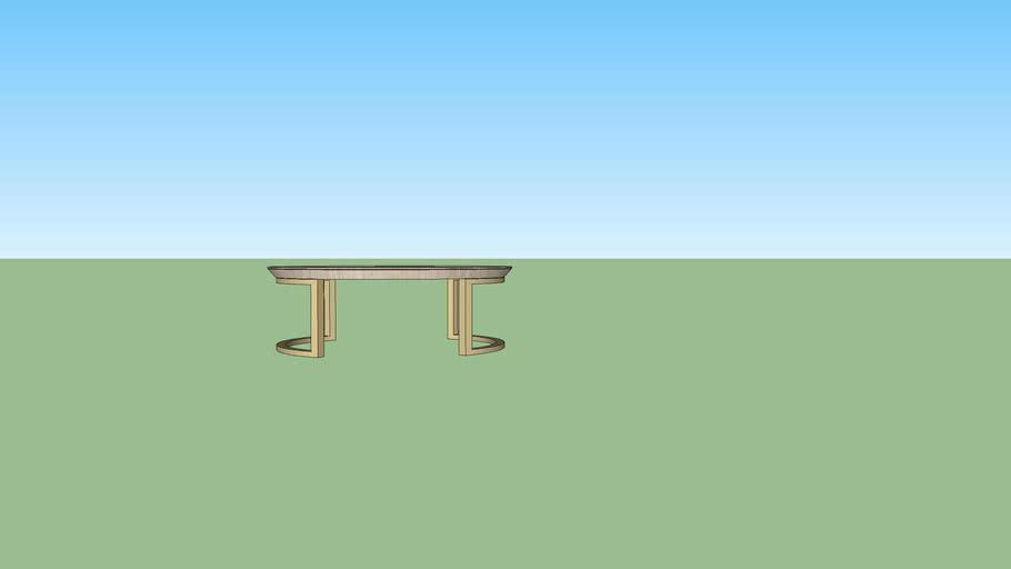 Mesa de Centro Poiret - diametro 100