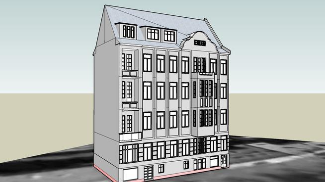 TENEMENT HOUSE ON 5 MICKIEWICZA STREET IN BYDGOSZCZ