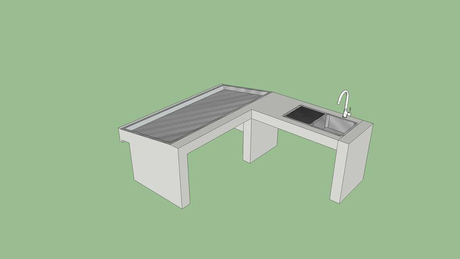 fish market desk